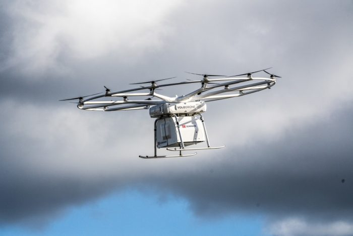 Volocopter's Massive Cargo Drone Lifts Off In Public For The First Time